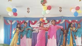 Ninna Raja nanu Nanna Rani ninu dance girls hostel sargur performance