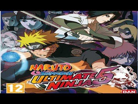 Naruto Shippuden Ultimate Ninja 5 En Espanol para PC