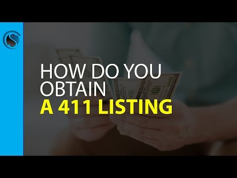 How Do You Obtain a 411 Listing... Frequently Asked Questions