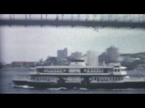 Sydney Australia In the Early 1980's Standard 8 Camera Footage