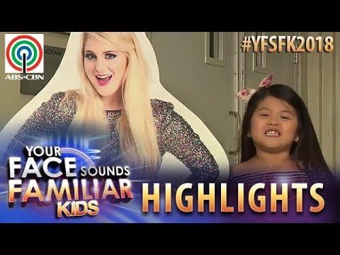 YFSF Kids 2018 Highlights: Chunsa Jung As Meghan Trainor   Week 1 Mentoring