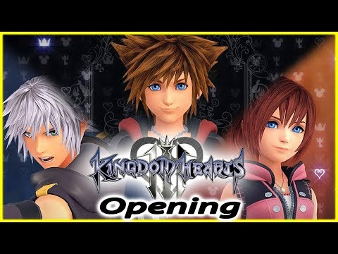 KINGDOM HEARTS 3 PS4 Full Opening Cinematic Face My Fears (English Version)