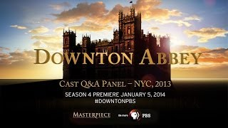 PBS and MASTERPIECE bring you a Downton Abbey Q&A with Fans from NYC (2013)