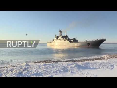 Russia: Northern fleet performs amphibious drills in Arctic waters