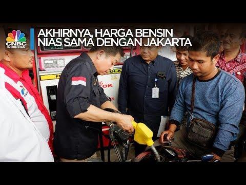 Akhirnya! Harga BBM di Nias sama dengan di Jakarta