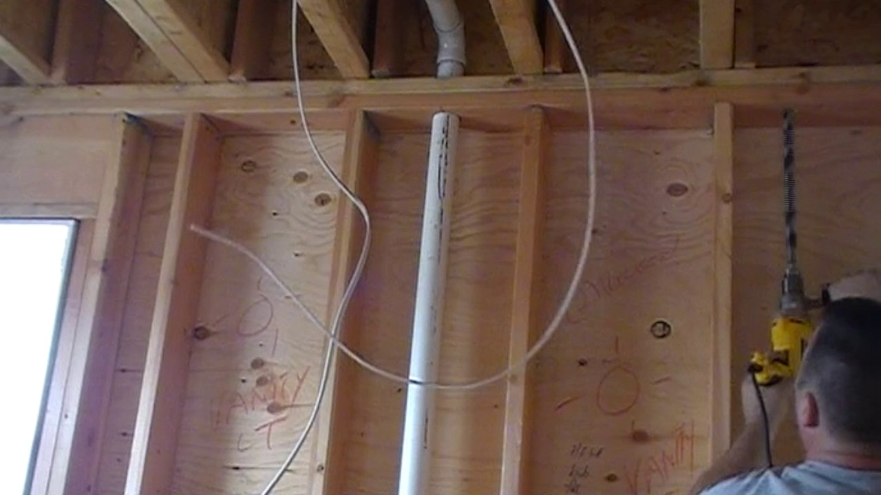 New Build rough electrical wiring in Brick, New Jersey - YouTube