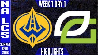 Video GGS vs OPT Highlights | NA LCS Summer 2018 Week 1 Day 1 | Golden Guardians vs Optic Gaming download MP3, 3GP, MP4, WEBM, AVI, FLV Juni 2018