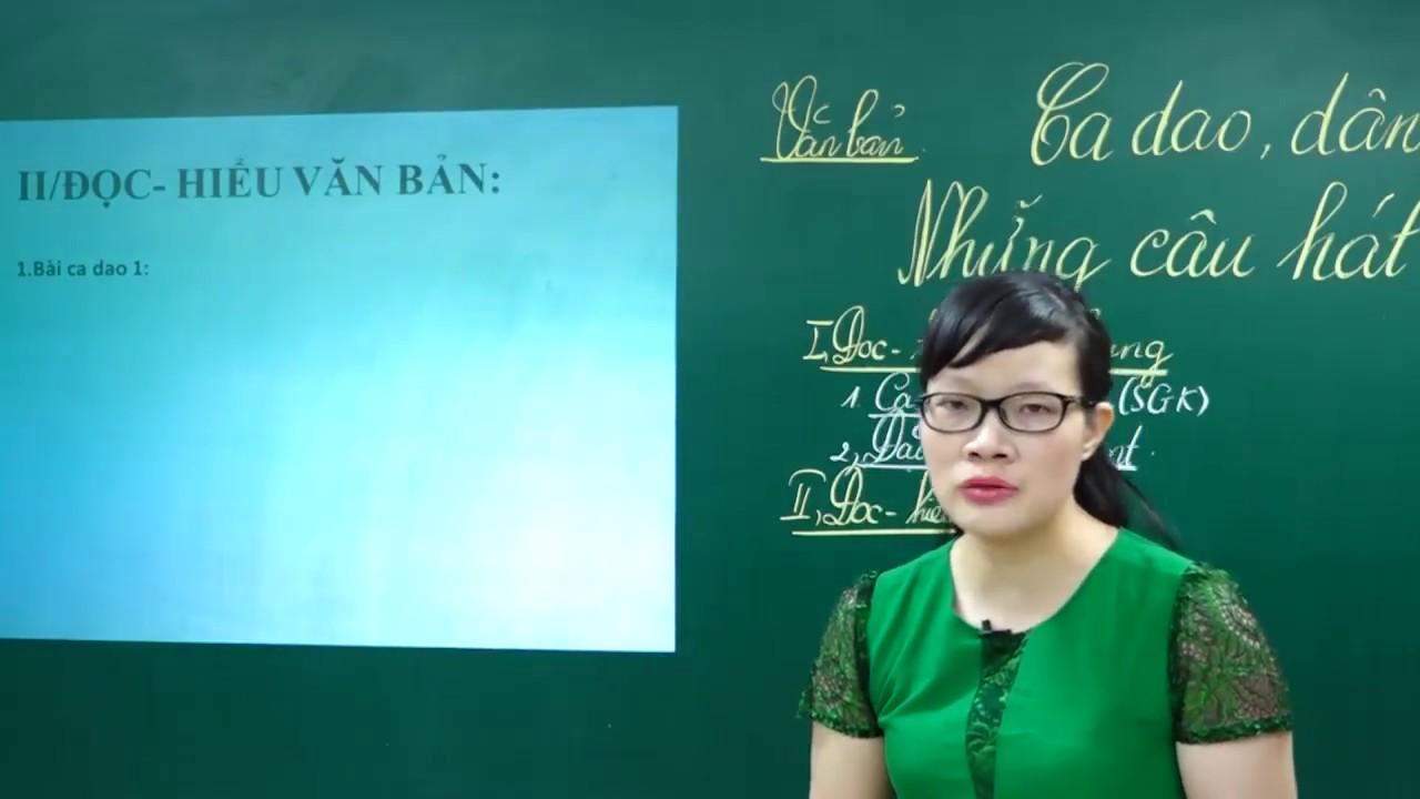Ngữ Văn Lớp 7 – Ca dao, dân ca những câu hát về tình cảm gia đình ngữ văn 7 | Văn học dân gian