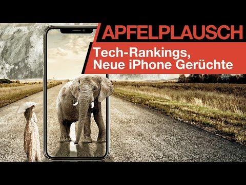 Apfelplausch #19: Viele iPhone 2018 Gerüchte, Tech-Rankings, Apple Software News [+Gewinnspiel #2]