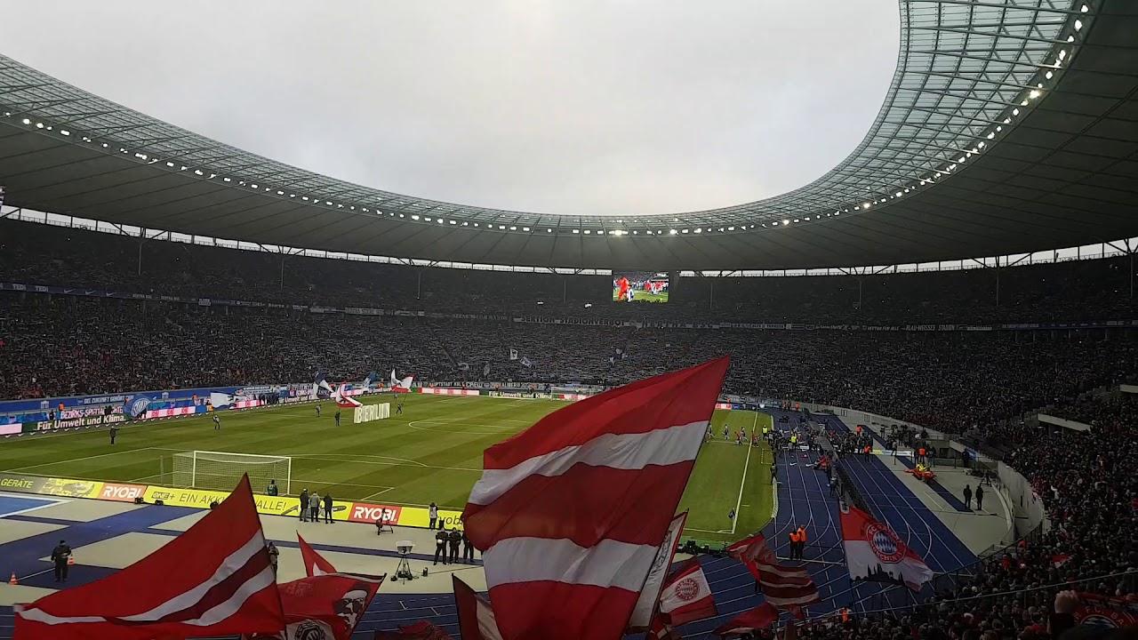 Olympiastadion Berlin Gästeblock