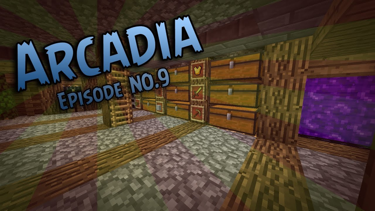 minecraft vanilla arcadia server episode 9 basement