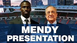 LIVE | Ferland Mendy's Real Madrid presentation