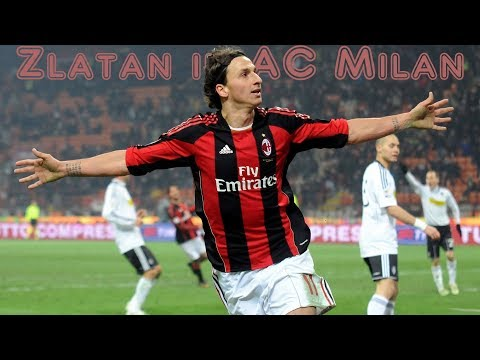 Zlatan Welcome to AC Milan 2017