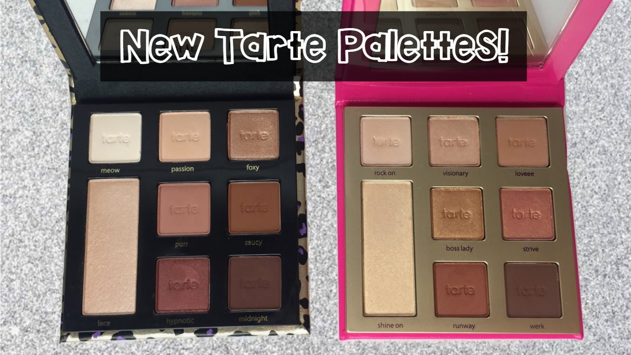 new tarte palettes maneater