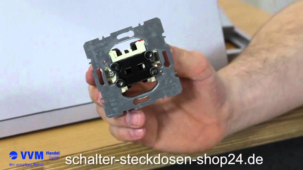 Eqona Schalter Taster Lichttaster mit LED
