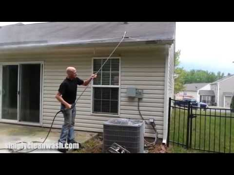 How To Pressure Wash Gutters Youtube