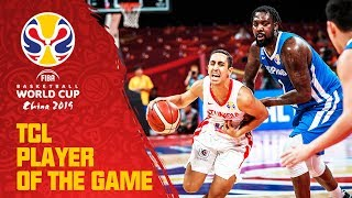 Omar Abada | Tunisia v Philippines | TCL Player of the Game - FIBA Basketball World Cup 2019