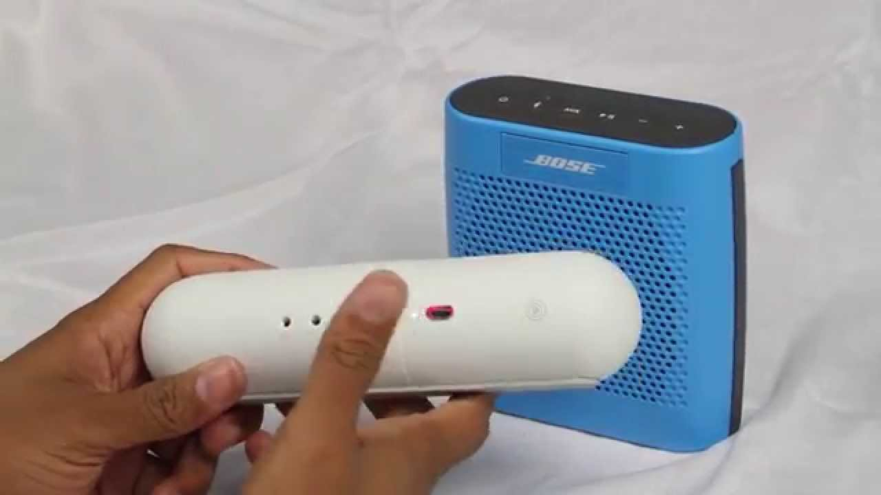 Beats Pill 2 0 vs Bose Soundlink Color (NEW Best Bluetooth Speaker Under  $200) | H2TechVideos