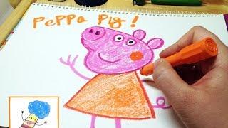 페파피그 그리기  peppa pig drawing 라임튜브 LimeTube