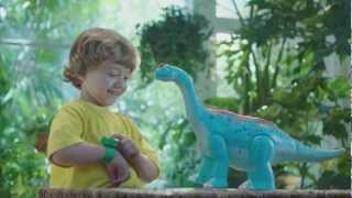 Dinosaur Train Extreme InterAction Arnie Argentinosaurus --15 sec commercial