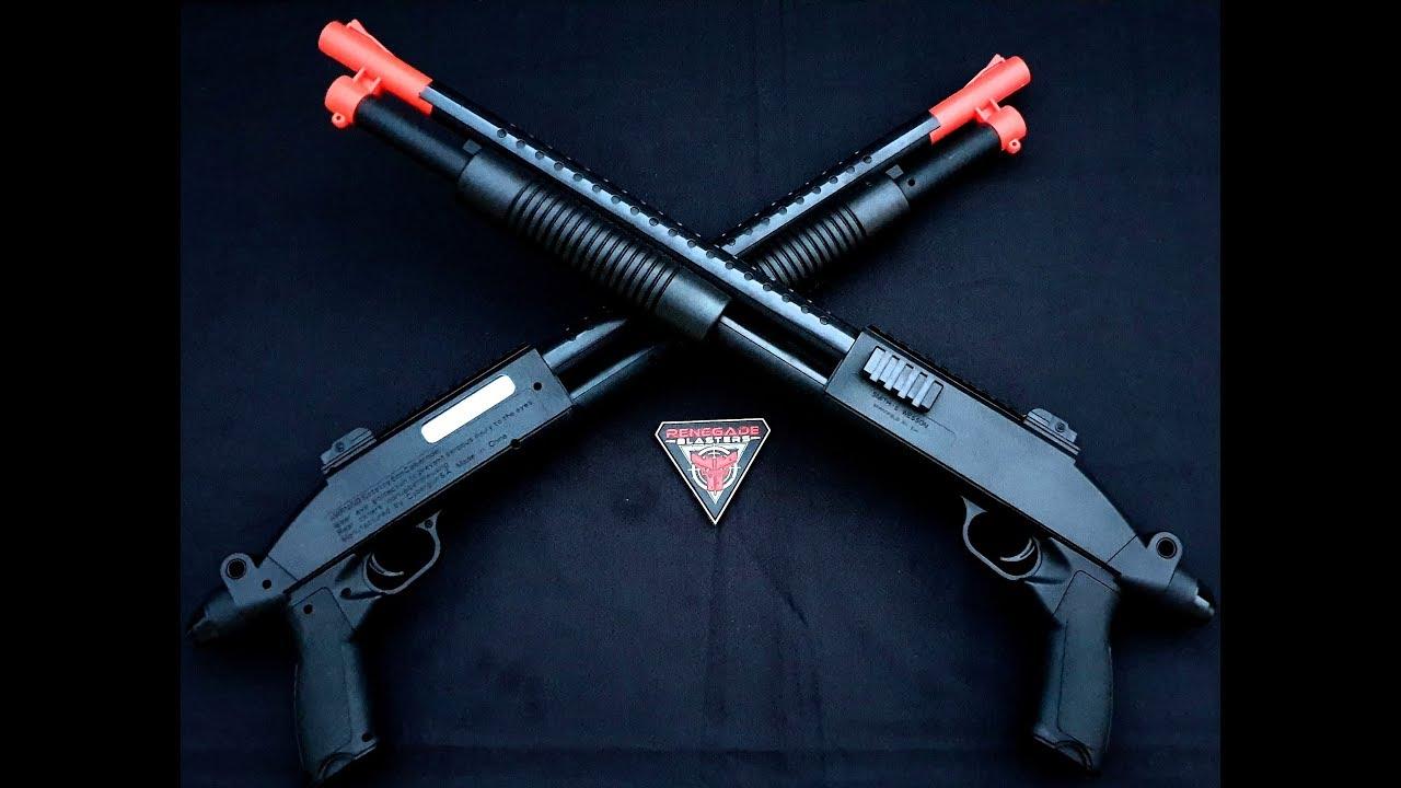 Hanke M97 Pump-Action Shotgun Gel Blaster