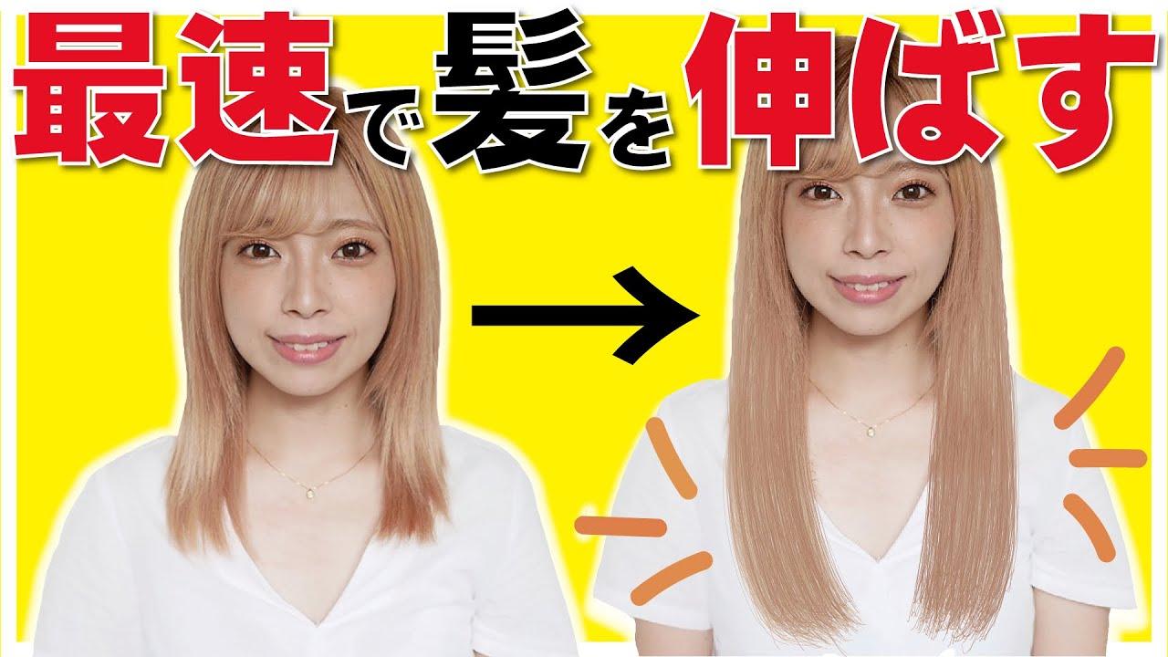 髪の毛 を 伸ばす 方法