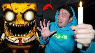 (SCARY) SUMMONING REAL SPONGEBOB  AT 3AM CHALLENGE!! **IT WORKED**