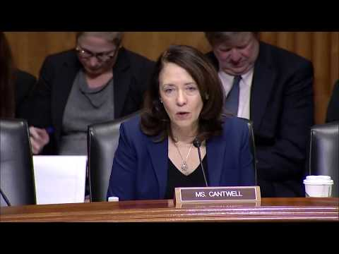 Cantwell Questions U.S. Trade Representative Lighthizer On Trump's Trade Policies