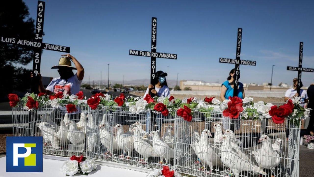 Cruces con los nombres de las 23 víctimas: homenaje a los fallecidos en ataque de El Paso