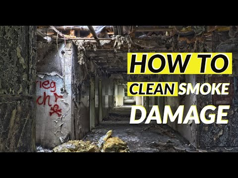 How to clean smoke damage - What is smoke damage
