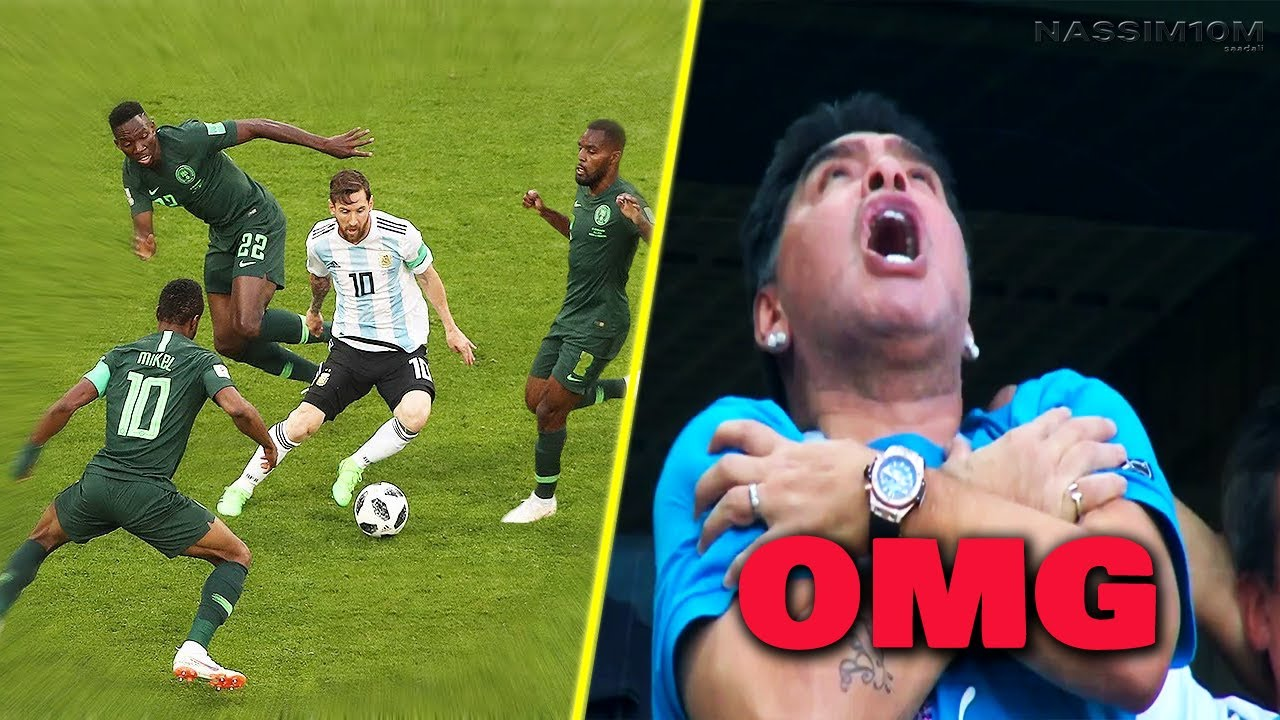 Epic Diego Maradona's reactions to Lionel Messi