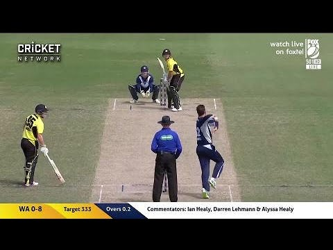 Highlights: Victoria V Western Australia, JLT One-Day Cup Semi-Final