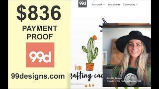 Earn $1000 Per Month | 99Designs.com | Earn Money | Graphic Designer