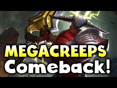 Loda Squad vs Saphira - MEGACREEPS Comeback! TI7 Quals DOTA 2