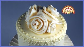 Repeat youtube video How to Make Easy Modeling Chocolate Roses by Wicked Goodies
