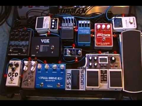Worship Pedalboard Pedalchain Order 2012 YouTube