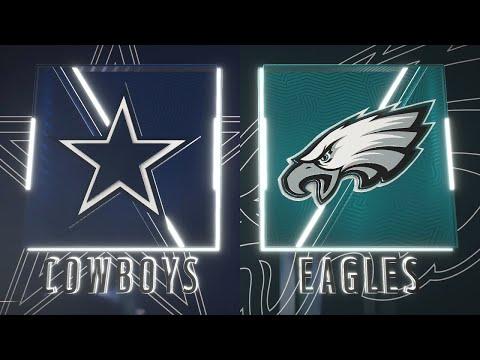 Madden NFL 20 - Dallas Cowboys Vs Philadelphia Eagles Simulation (Madden 21 Rosters)
