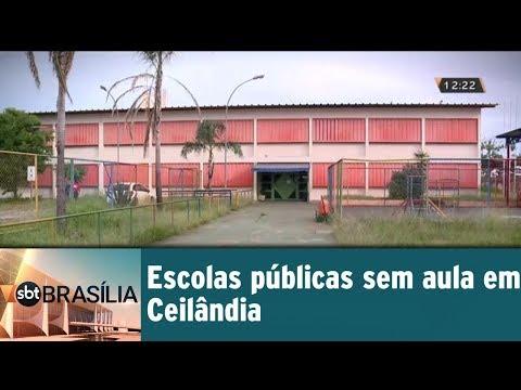 Escolas públicas sem aula em Ceilândia