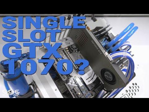 #0165 - Galax GTX 1070 Katana Review. Single Slot 1070 WTF?