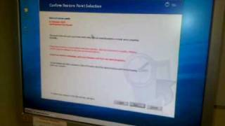 Roll back operating system to restore point.3GP