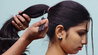New Simple Hairstyle For party || hair style girl || hairstyle for girls || cute hairstyles || 2018