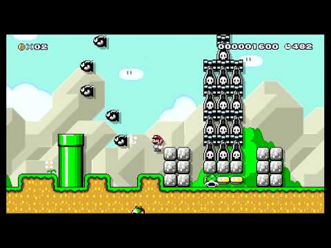 Koopas Trenches 2: Carps Revenge by Dr-Doctor - SUPER MARIO MAKER - NO COMMENTARY