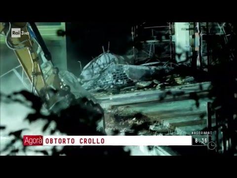 Ancona: il ponte crollato - Agorà 10/03/2017