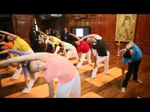 International Day of Yoga - Inaugural session at High Commission of India, London