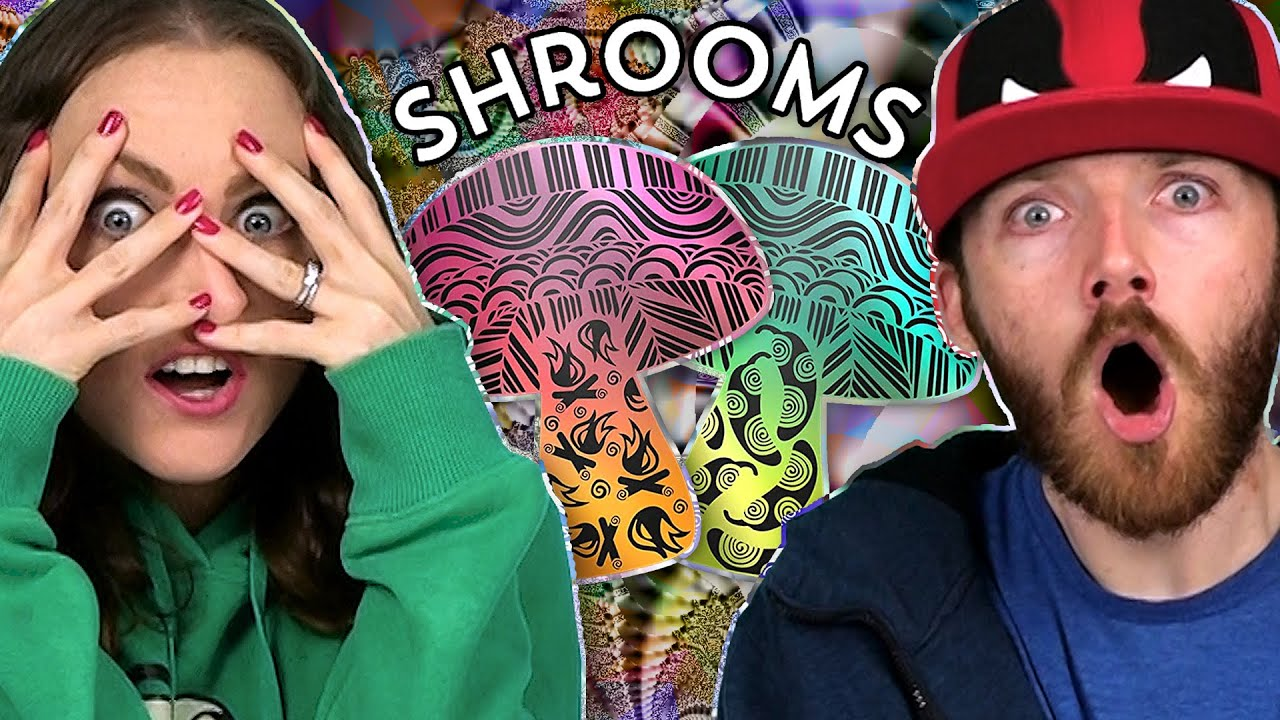 Irish People Try Shrooms Mushroom Snacks