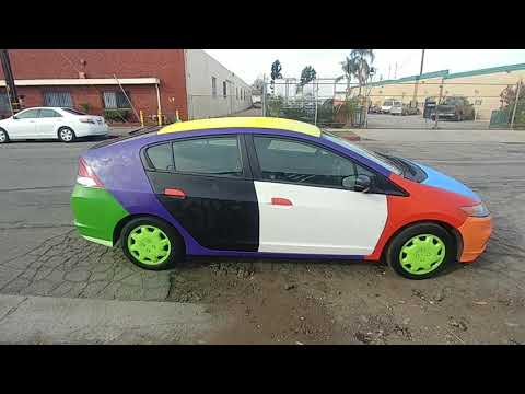 Spray Painted Car – Brian Wangenheim