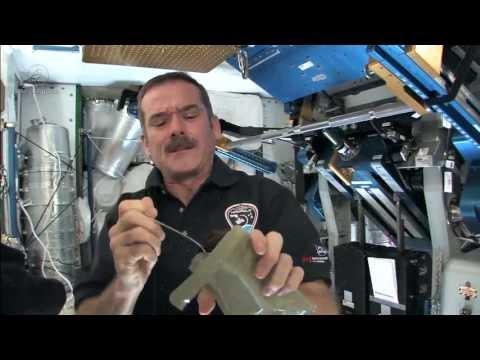 Chris' Kitchen: Dessert in Space