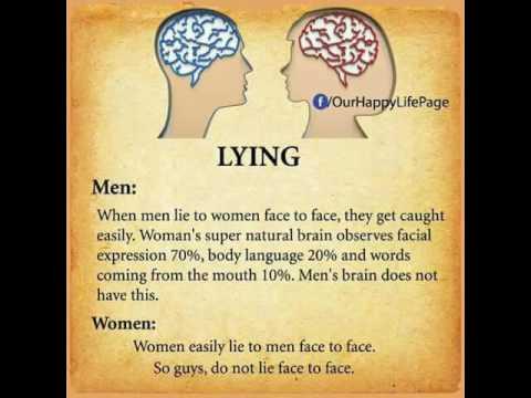 Body language between men and women