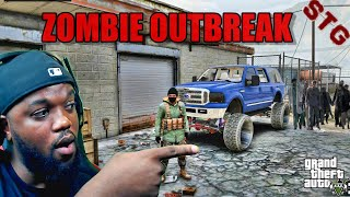GTA 5 ZOMBIE OUTḂREAK MOD - TREVOR'S 14TH DAY!! (GTA 5 MODS)