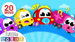 Colors with Baby Car & the Car Family | Vehicles & Trucks Fun Songs for Kids by Little Angel